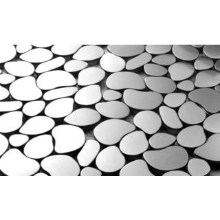 Martini Mosaic Pebble Stainless Steel (Set of 7)