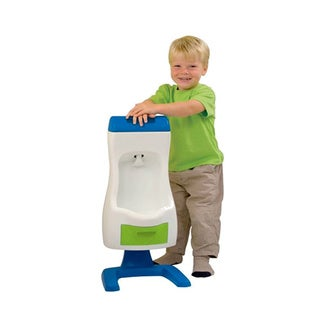 Grow'N Up Peter Potty Plastic Flushable Toddler Urinal