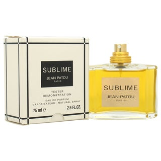 Jean Patou Sublime Women's 2.5-ounce Eau de Parfum Spray (Tester)