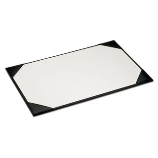 Lime Green Faux Leather Table Mat