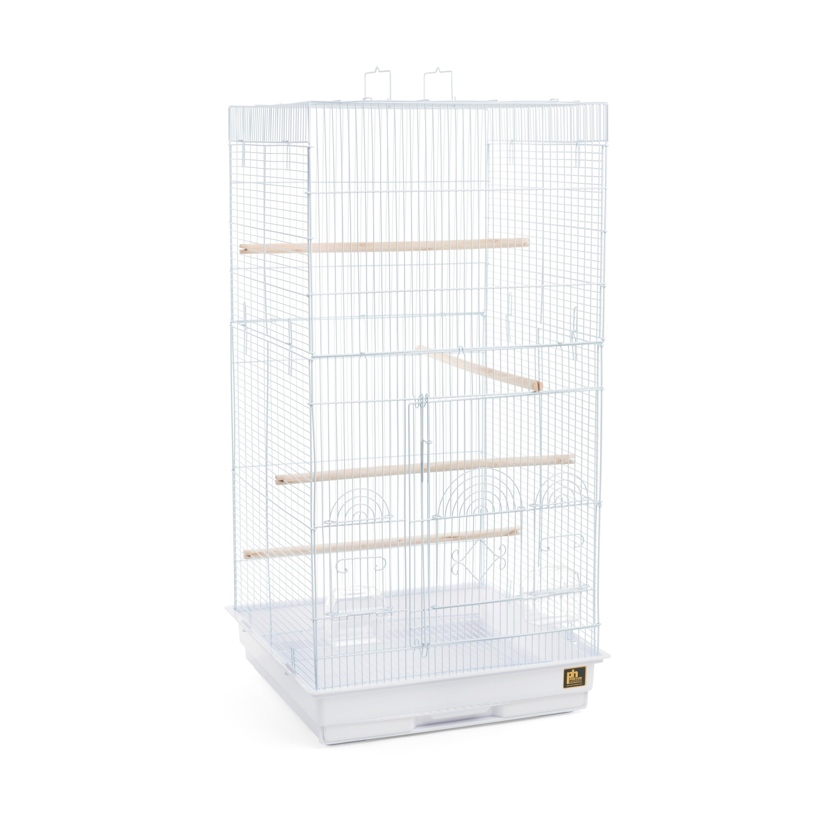 Prevue Pet Products Tall Tiel Small-Medium Bird Cage (White)