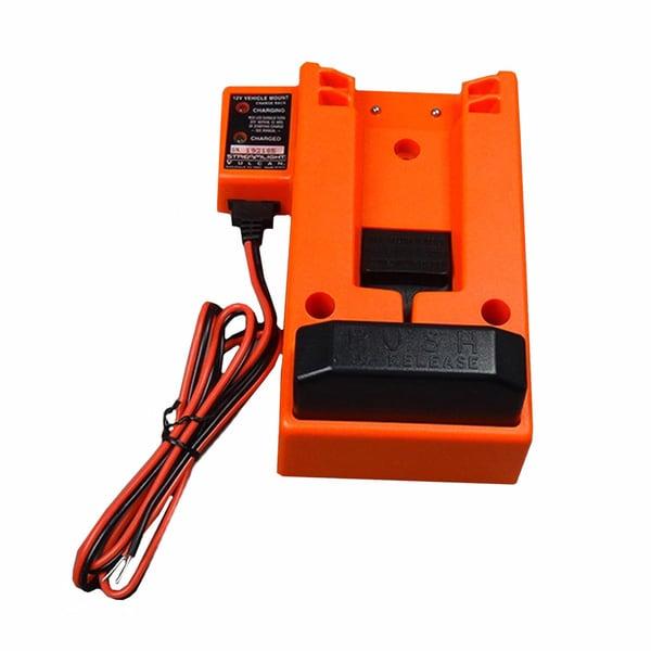 Streamlight 44131 Orange Plastic 12V DC 6x3x1-inch Charge Rack