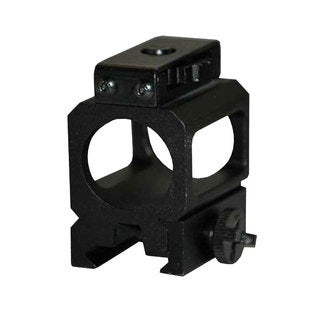 Streamlight 69100 Black Alumnimum 2x1x4-inch Rail Mount