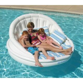 Solstice White Nylon Aqua Sofa