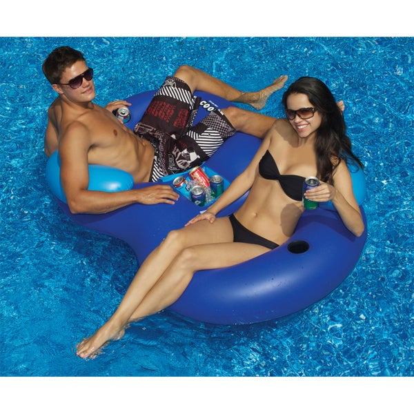 Soltce Swimline Solstice Double Tube Cooler Combo