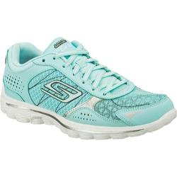 Shop Women S Skechers Gowalk 2 Flash Mint Free Shipping