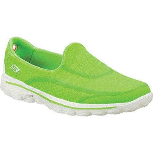 Women's Skechers GOwalk 2 Super Sock Green