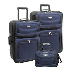 Traveler's Choice Amsterdam 3 Piece Collection Navy