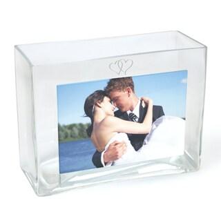 Wedding Reception Glass Photo Vase