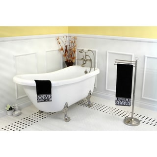 vintage collection 67inch acrylic slipper clawfoot tub