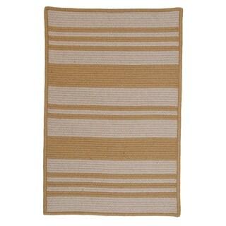 Sunbrella Stripe Area Rug (2'5 x 7')
