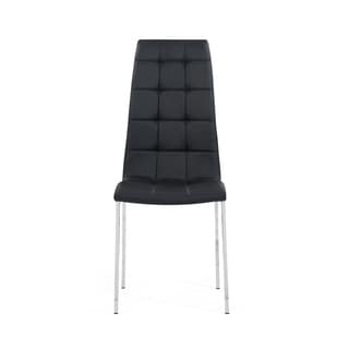 Tufted Dining Chairs Black (Set of 4)