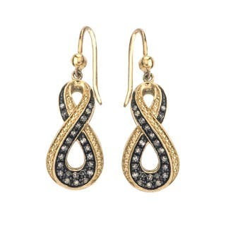 champagne diamond earrings for less. Black Bedroom Furniture Sets. Home Design Ideas