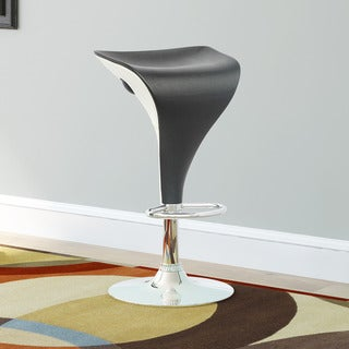 CorLiving Adjustable Leatherette Two-toned Barstools (Set of 2)