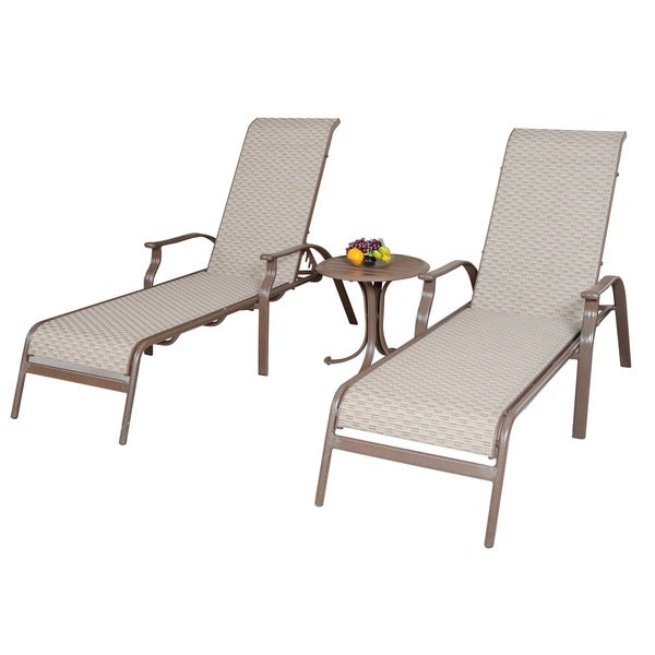 Panama jack island breeze sling 3 piece chaise lounge set