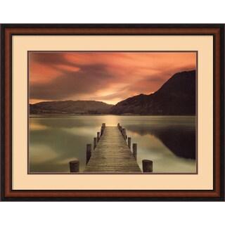 Framed Art Print 'Ullswater, Glenridding, Cumbria' by Mel Allen 35 x 27-inch
