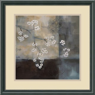 Framed Art Print 'Spa Blossom II' by Laurie Maitland 18 x 18-inch