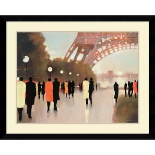 Lorraine Christie 'Paris Remembered' Framed Art Print 41 x 33-inch