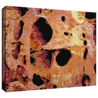 Dean Uhlinger 'Erosion Glow' Gallery-wrapped Canvas - Multi