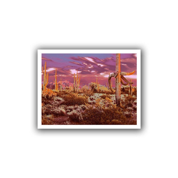 Dean Uhlinger 'Before Borders' Unwrapped Canvas - Multi