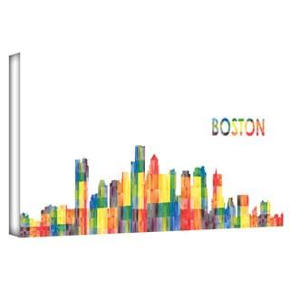 Revolver Ocelot 'Boston' Gallery-wrapped Canvas