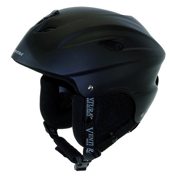 Black Skiing/ Snowboarding Medium Youth Helmet (56-58 cm)