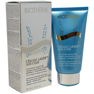 Celluli Laser Size Code Advanced Stomach-Waist Care by Biotherm for Unisex - 5.07 oz Waist Care