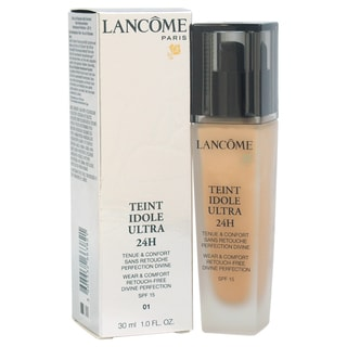 Lancome Teint Idole Ultra 24H Wear & Comfort Retouch Free Divine Perfection SPF 15 # 01 Beige Albatr