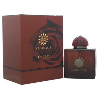 Amouage Lyric Women's 3.4-ounce Eau de Parfum Spray
