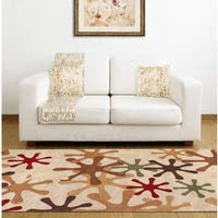 Hand-tufted Jaxx Wool Area Rug - 9' x 12'
