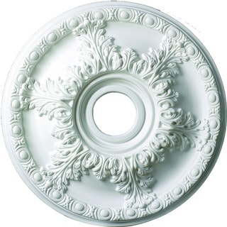 Acanthus Leaf 18-inch Round Ceiling Medallion