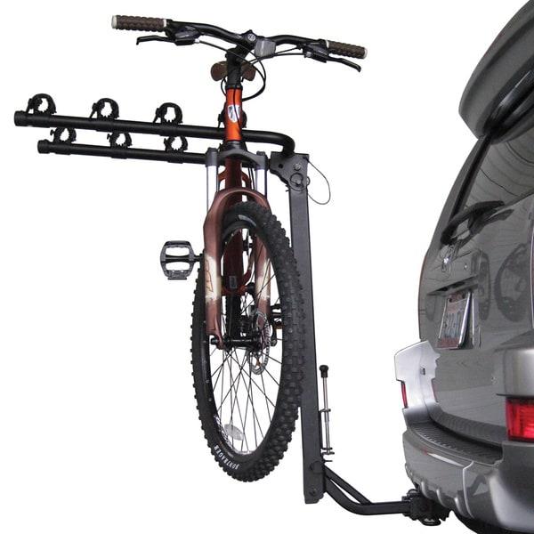 how to put bike on top of suv oem rack