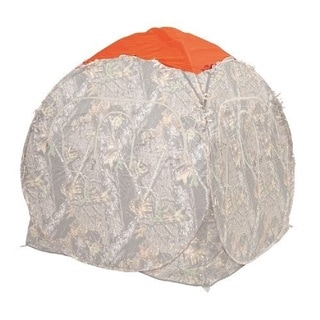 Ameristep Blaze Orange Spring Steel Cap Outhouse & Doghouse