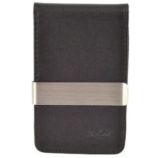 Zodaca Men's Slim-fit Genuine Leather Detachable Money Clip Wallet with 4 Card Slots