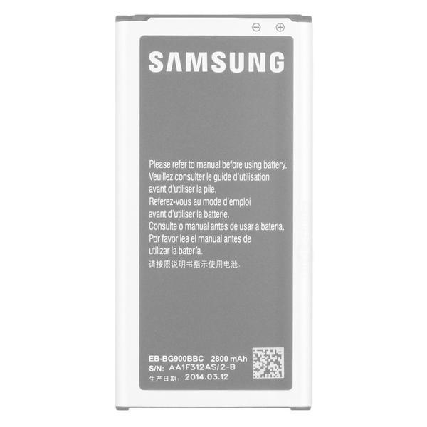 Samsung Galaxy S5/ SV Original Backup OEM Standard Battery Replacement EB-BG900BBU in Bulk Packaging
