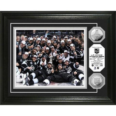 NHL LA Kings 2014 Stanley Cup Champions Celebrations Silver Coin Photo Mint