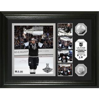 NHL LA Kings 2014 Stanley Cup Champions Triumph Silver Coin Photo Mint
