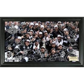 NHL LA Kings 2014 Stanley Cup Champions Tradition Signature Rink Frame|https://ak1.ostkcdn.com/images/products/9181342/P16356198.jpg?impolicy=medium