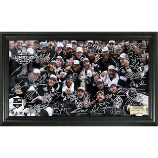 NHL LA Kings 2014 Stanley Cup Champions Tradition Signature Rink Frame