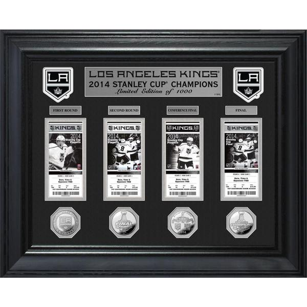 NHL LA Kings 2014 Stanley Cup Champions Ticket and Game Collection