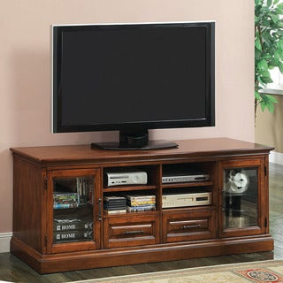 Furniture of America Thomson Antique Oak Entertainment Console