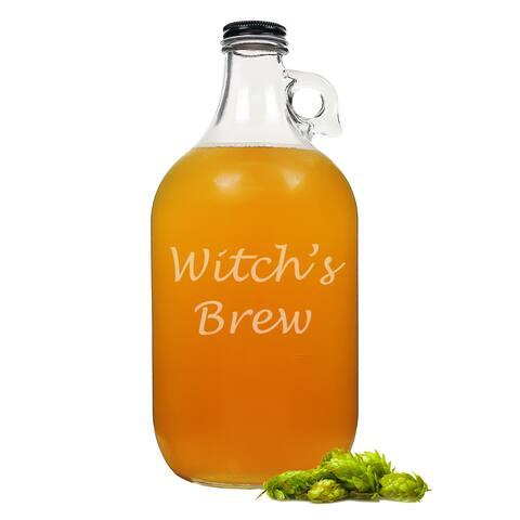 Halloween Witch's Brew Craft Beer Growler