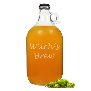 Halloween Witch's Brew Craft Beer Growler