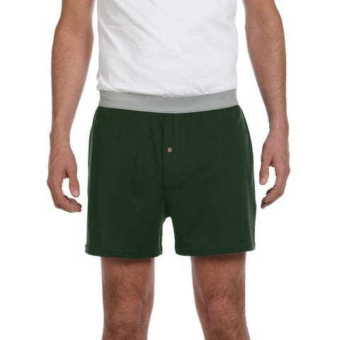 Robinson Men's Knit Boxer Short