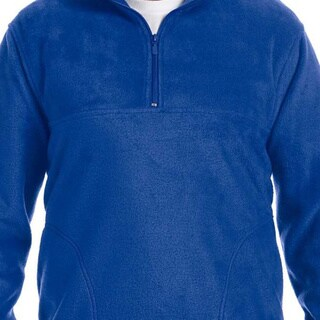 Men's Quarter-zip 8-ounce Fleece Pullover