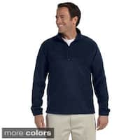 Men's Quarter-zip 8-ounce Fleece Pullover