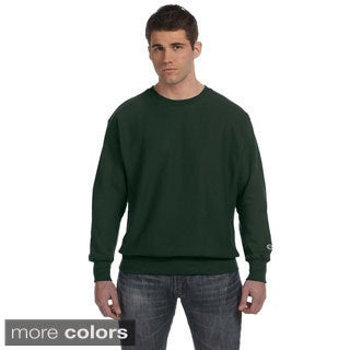 Men's Reverse Weave 12-ounce Crew Pullover
