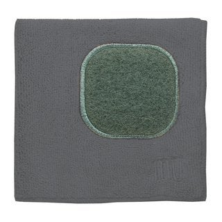 Mukitchen Mumodern Stainless Grey Microfiber Dishcloth