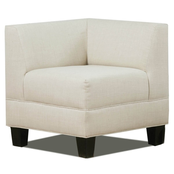 Makenzie Corner Chair Free Shipping Today Overstock
