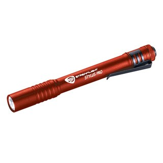 Streamlight 66120 Red Aluminum Stylus Pro Flashlight